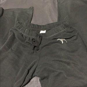 PINK black sweat pants